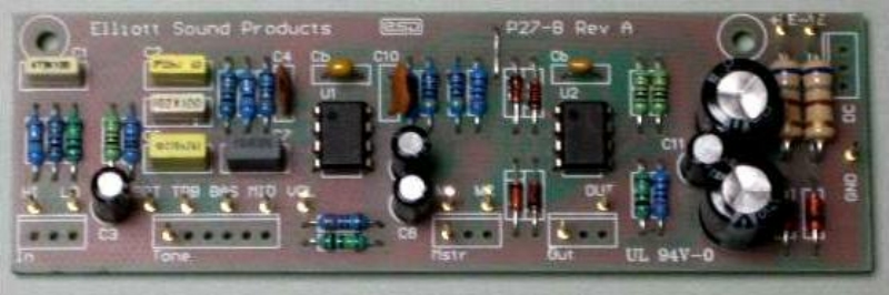 Guitar Amplifier Circuit Diagram With Pcb Layout