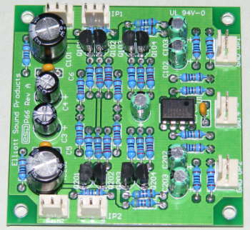 Low Noise Balanced Microphone Preamp on