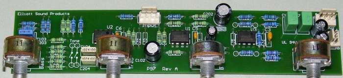 Skema Layout Pcb Tone Control